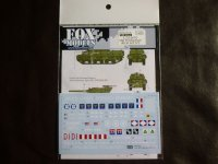 FOXMODELS【FM-D35016】1/35 M10 Mid Production Decal Set2(T社対応)