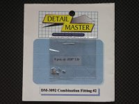 "DETAIL MASTER【DM-3092】Combination Fitting#2(8pce@.028""I.D)"