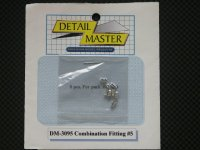 "DETAIL MASTER【DM-3095】Combination Fitting#5(8pce@.067""I.D)"