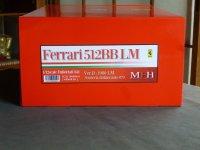 Model Factory Hiro 【K-534】1/12 Ferrari 512BB LM VerD  Fulldetail Kit