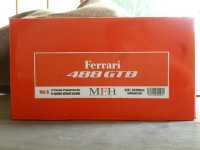 Model Factory Hiro 【K-597】1/12 FERRARI 488GTB VerA Propotion Kit