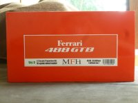 Model Factory Hiro 【K-598】1/12 FERRARI 488GTB VerB Propotion Kit