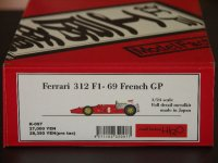 MFH【K-097】1/24 FERRARI 312F1'69 French GP