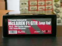 "MFH【K-378】1/24 McLaren F1 GTR ""Long tail""Ver.C : 1997 Sarthe 24hours [Team McLaren] #44 kit"