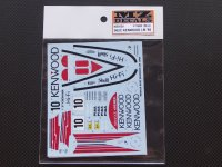 "MZ DECALS【MZ-0029】PORSCHE962C""KENWOOD""LM 1988"