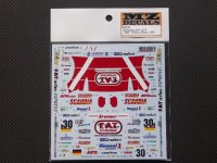 MZ DECALS【MZ-0038】PORSCHE 911 GT1 FAT #30 LM 1997 Decal