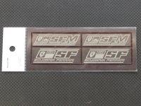 Ready⇒9【RNP010】SUCUDERIA FERRARI logo PLATE Ssize(set)