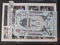 STUDIO27【ST27-DCBBEL007】1/24 Peugeot 207 S2000 #21 Geko Ypres Rally 2011 Decal