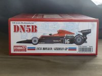 STUDIO27【FD-20004】1/20 DN5B Monaco/Germany 1976 Kit