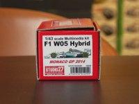 STUDIO27【FD-43029】1/43 F1 W05 HYBRID Monaco GP 2014 Kit