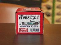 STUDIO27【FD-43030】1/43 F1 W05 HYBRID SINGAPORE GP 2014 Kit