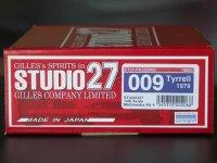 "STUDIO27【FK-20206C】1/20 ティレル 009 ""Tyrrell Ver""'1979"