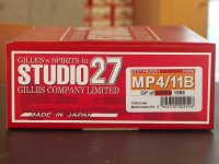 STUDIO27【FK-20251】1/20 MP4/11B JAPAN GP 1996