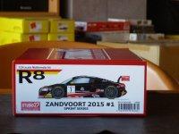 STUDIO27【FK-24128】1/24 AUDI R8 Ultra #1 Zandvoort 2015 kit