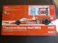STUDIO27【TRK-008】1/20 Theodore Racing Wolf WR3 AFX F-1 1980 Kit
