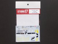 STUDIO27【DC-839】1/12 YAMAHA YZR-M1 Tech 3 #7#77 2006 Decal