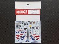 STUDIO27【DC-843】1/12 YAMAHA YZR-M1 #5 USA special livery2006
