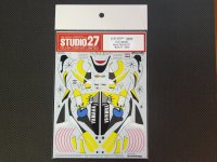 STUDIO27【DC-851】1/12 YAMAHA YZR-M1 Tech 3 #11 2005 (R6〜R17)decal
