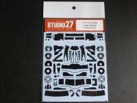 STUDIO27【CD-20026】1/20 F2007用カーボンデカール(F社対応)