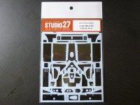 STUDIO27【CD-20036】1/20 MP4/2B用カーボンデカール(A社対応)