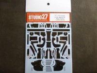 STUDIO27【CD-20045】1/20 MP4/31用Late verカーボンデカール(E社対応)