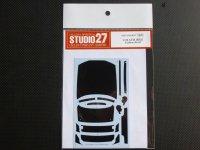 STUDIO27【CD-24017】1/24 SKYLINE GT-R (R32) カーボンデカールセット(T社対応)