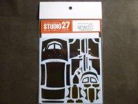 STUDIO27【CD-24022】1/24 LANCER EVOLUTION V WRC 1998 カーボンデカールセット(H社対応)