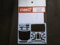 STUDIO27【CD-24023】1/24 CIVIC EG6 ドレスアップカーボンデカールセット(H社対応)