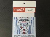 """STUDIO27【DC-1035】1/24 037 Rally Portugal""""Shakedown""""1985 Decal"""