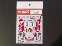 "STUDIO27【DC-1038】1/24 ST185 ""Belga"" #2 Boucles De Spa Rally 1994 1st Place DECAL(T社対応)"