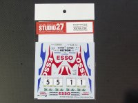"STUDIO27【DC-1039】1/24 ST185 ""Ciocco"" #1/#5 Rally ll 1st&2nd Place DECAL(T社対応)"