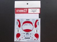 STUDIO27【DC-1041】1/24 ST185 #1 Rally Sweden 1993 DECAL(T社対応)
