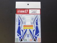 STUDIO27【DC-1064】1/24 F458 Italia RAM Racing #52/53 LM 2014 decal