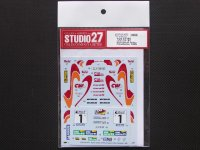 "STUDIO27【DC-1073】1/24 ST185 ""cw oil"" #1 European Rally Champion 1995 DECAL(T社対応)"