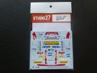 "STUDIO27【DC-1085】1/24 Ford Fiesta ""Jipocar"" #21 Rally Mexico 2014 DECAL(BELKITS社対応)"