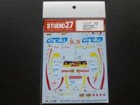 "STUDIO27【DC-1088】1/24 Peugeot 207 ""EPIU""#206 Rally Sanremo 2014(2nd) Decal(For BELKITS-001)"