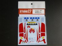 "STUDIO27【DC-1103】1/24 BMW Z4""Schubert Motorsports""#20 Nur24h 2015 DECAL(F社対応)"
