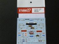 STUDIO27【DC-1105】1/24 Ford Fiesta WRC #43 MONZA Rally Show 2014 DECAL(BELKITS社対応)