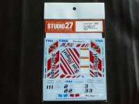 "STUDIO27【DC-1108】1/24 BMW 318i""Sun Miguel""Macau Guia Race 1994 Decal(H社対応)"