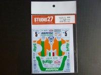 """STUDIO27【DC-1118】1/24 Lancia Super Delta """"totip""""#5 Monte-Carlo 1983 Decal(H社対応)"""