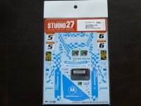 "STUDIO27【DC-1127】1/24 BMW 318i""Motorola""Macau Guia Race 1994 Decal(H社対応)"