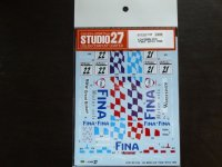 "STUDIO27【DC-1129】1/24 BMW 318i""FINA""BTCC 1996 Decal(H社対応)"
