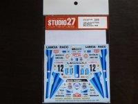 STUDIO27【DC-1130】1/24 037 Rally #12 RACC Monte-Carlo 1986 Decal(H社対応)