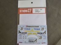 """STUDIO27【DC-1171】1/24 962C""""FROM A"""" #27 JSPC 1988 Decal(H社対応)"""