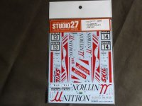 STUDIO27【DC-1174】1/24 BMW M3'Unitron'#13/#14 DTM 1991 DECAL(A社対応)