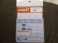 STUDIO27【DC-1178】1/24 BMW M3'Labatts'BTCC 1991 DECAL(A社対応)