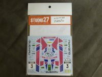 STUDIO27【DC-1189】1/24 legacy RS #3 1000Lakes 1990 DECAL(H社対応)
