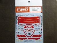 "STUDIO27【DC-1194】1/24 962C""FAT"" #20 WSPC Donington 1990 Decal(H社対応)"