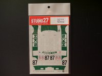"""STUDIO27【DC-132】1/24 ニッサンスカイライン GT-R""""HKS""""Gr.A '92"""