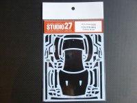 STUDIO27【CD-24018】1/24 R35 カーボンデカールセット(T社対応)